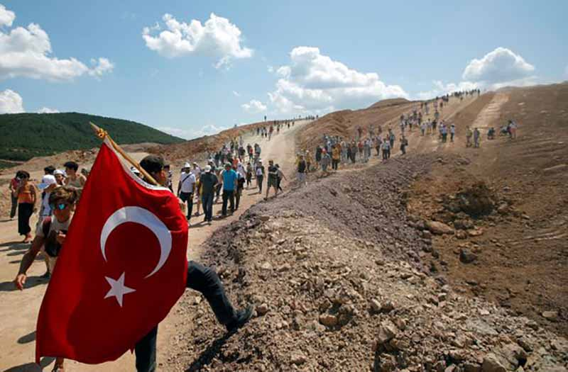 In a Turkish forest, resistance grows to a Canadian company's gold-mining project